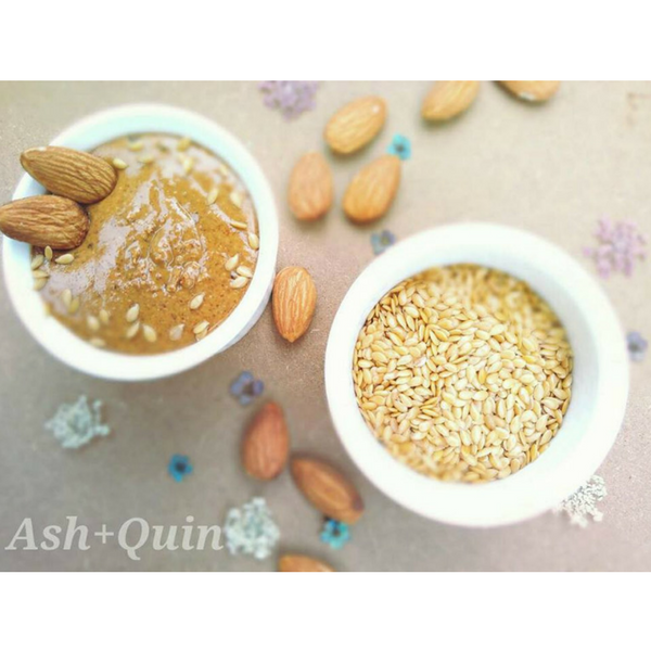 Almond Flaxseed Butter / 杏仁亚麻子奶油 (Ash & Quin)