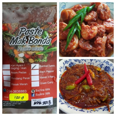 Sambal Tumis Cooking Paste (Such are Cakes) - KL