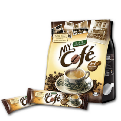 My Cofe 3 in 1 Ipoh White Coffee / 3合1怡保白咖啡 (Sin Yoon Loong) - Ipoh