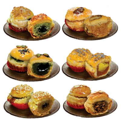 Six Prosperity Pastry / 六福酥 - Box of 12 pcs (Ming Xiang Tai) - Penang