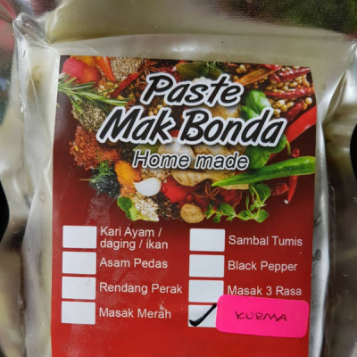 Kurma Cooking Paste (Such are Cakes) - KL