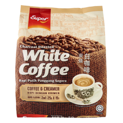 Charcoal Roasted White Coffee (2 in 1) / 碳烧2合1白咖啡 (Super) - Ipoh
