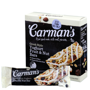Greek Style Yoghurt Fruit & Nut Bars (Carman's) - KL