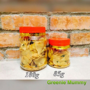 Homemade Salted Egg Yolk Potato Chips / 蛋黄薯片 - 85g (Greenie Mummy) - KL