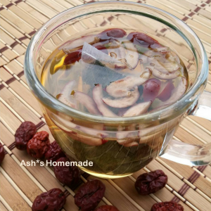 Mulberry Leaf Tea with Jujube 红枣桑叶茶 (Ash*s Homemade) - KL