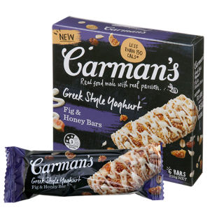 Greek Style Yoghurt Fig & Honey Bars (Carman's) - KL