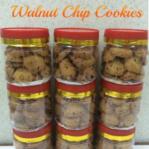Walnut Chips Cookies 核桃粒曲奇饼 (May Homemade) - Ipoh