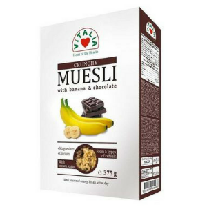 Crunchy Muesli with Banana and Chocolate (Vitalia) - KL