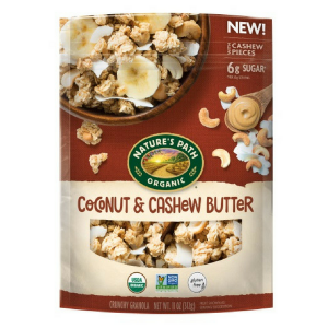 Coconut & Cashew Butter Granola (Nature's Path) - KL
