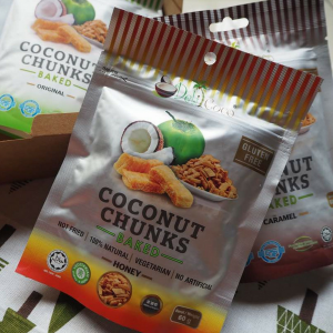Organic Honey Coconut Chunk (SK Native) - Ipoh