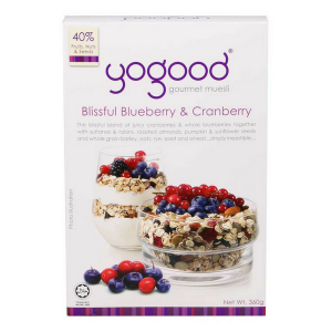 Blissful Blueberry & Cranberry Gourmet Muesli (Yogood) - KL