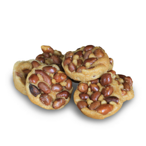 Rounded Peanut Biscuit / 花生圆粒脆饼仔 - Pack of 2 (Ching Han Guan) - Ipoh