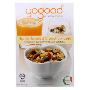 Honey Toasted Crunchy Muesli (Yogood) - KL