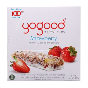 Strawberry Yoghurt Coated Muesli Bars (Yogood) - KL