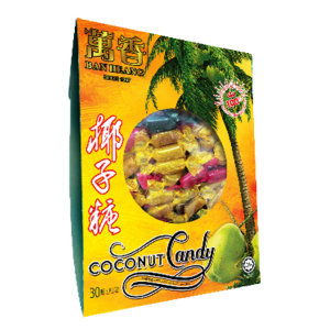 Coconut Candy / 椰子糖 - Pack of 2 (Ban Heang) - Penang