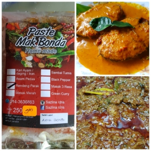 Rendang Perak Cooking Paste (Such are Cakes) - KL